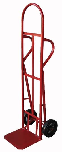 "Rhino Hand Trucks 55"" Tall with 12"" x 14"" Toe Plate and Dual Handle Heavy-Duty Hand Truck"