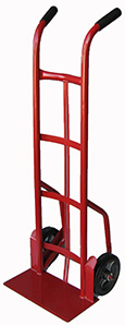 "Rhino Hand Trucks 51"" Tall with 9"" x 14"" Toe Plate and Dual Handles Heavy-Duty Hand Truck"