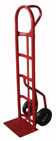 "Rhino Hand Trucks 51"" Tall with 9"" x 18"" Toe Plate and Single Handle Heavy-Duty Hand Truck"